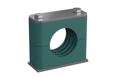 Abraçadeira Stauff Série Standard de acordo com DIN 3015, Parte 1 para diâmetros externos: 6 – 102 mm